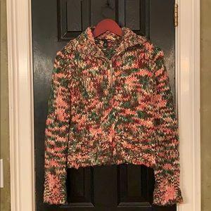 H&M crop sweater cardigan XS